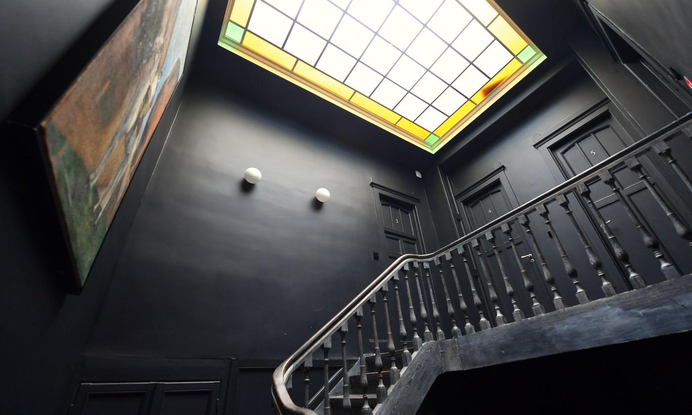 Cage escalier maison d'hotes les toquées lille