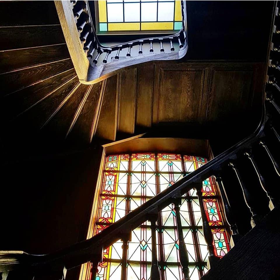 Escalier les Toquées restaurant maison d'hotes lille